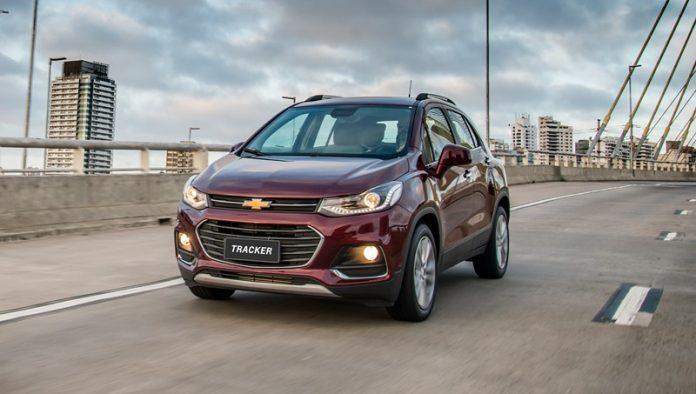 Chevrolet Tracker, modelo reestilizado